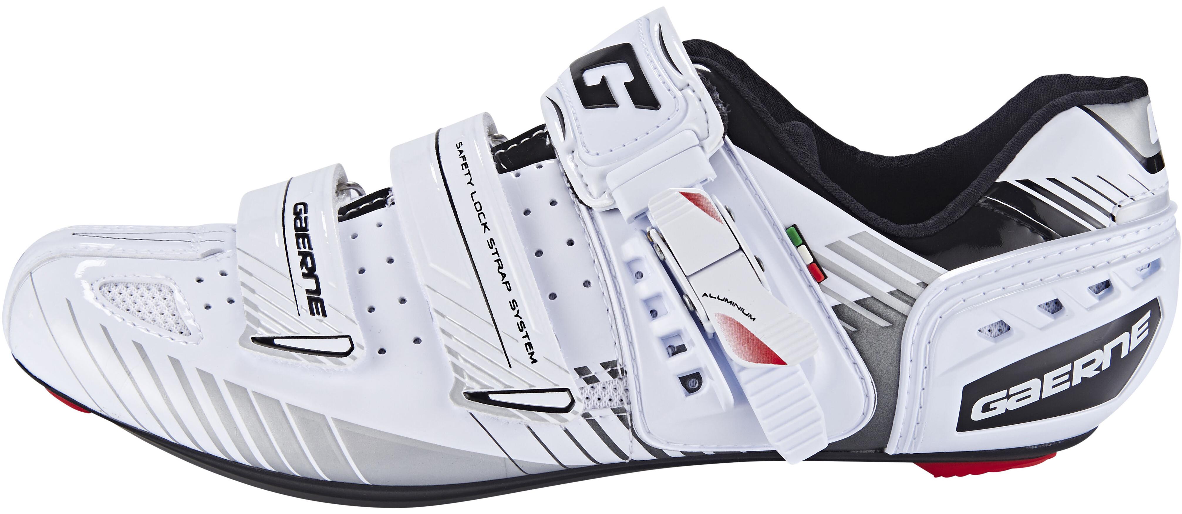 outlet store 4ce41 b1c36 Gaerne G.Motion Scarpe da ciclismo per bicicletta da corsa Uomo, white